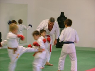 Karate tuition Limoux