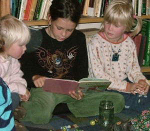 Learning to read with friends