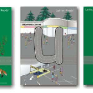 Letter Roads - Learn the alphabet with cars